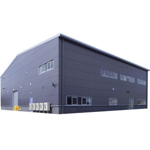 High Quality Galvanized Steel Structural Building Prefabricated Industrial Storage Shed Warehouse