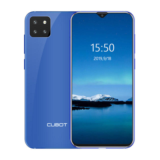 CUBOT X20 Pro 4G Smartphone 6GB + 128GB 6.3 Inch Android 9.0 12.0MP + 20.0MP + 8.0MP Kamera Belakang 4000MAh Face ID Ponsel