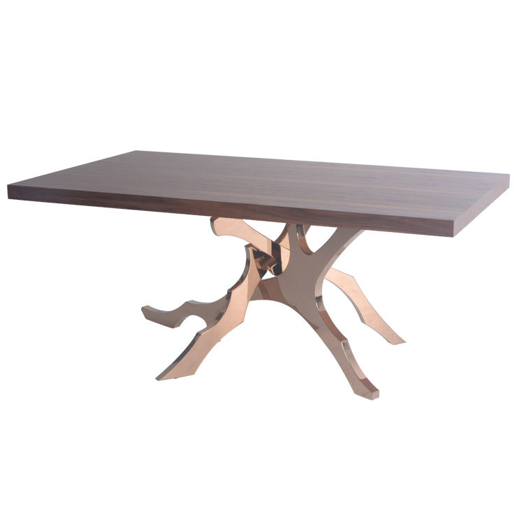 New design hot sale cheap table bases for glass dining tops