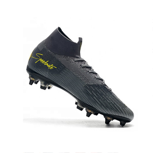 2020 Hot Sale Professional Boot customize brand logo outdoor train SG Men Superfly 12 Soccer Shoes Cr7 Football Boots wholesale