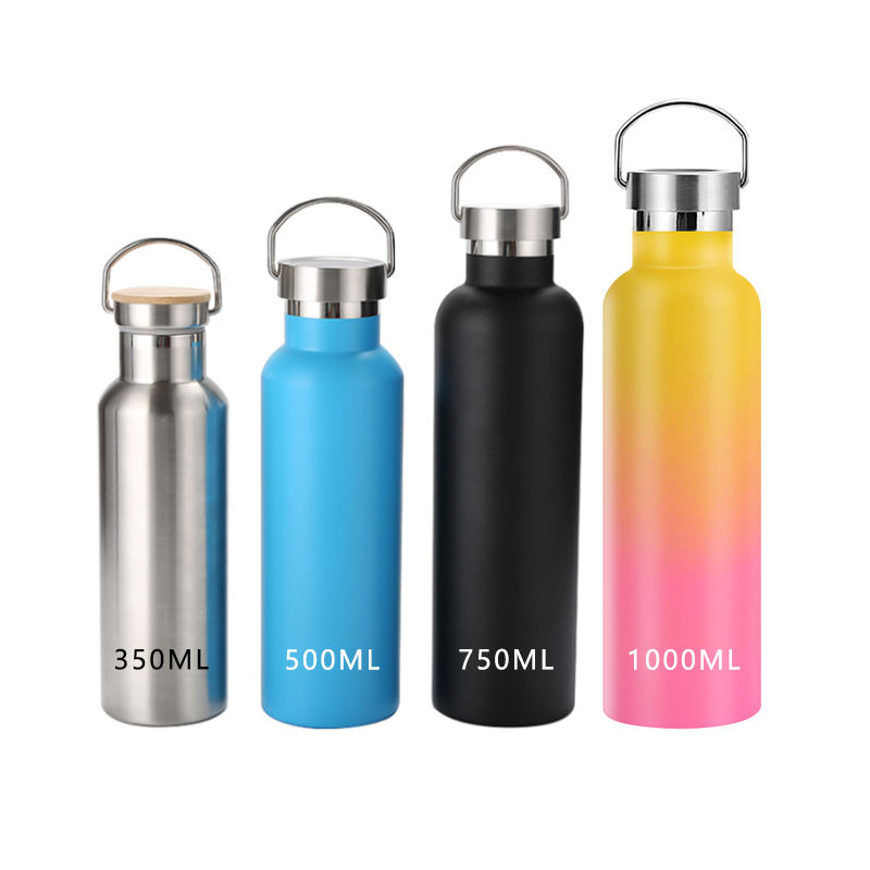 Vacuum Flask Portable Insulated Stainless Steel Sports Bottle