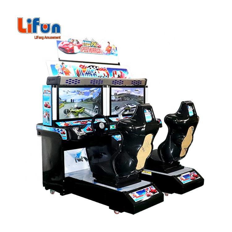 Coin operated car racing simulator outrun arcade machine, arcade games car race game for sale