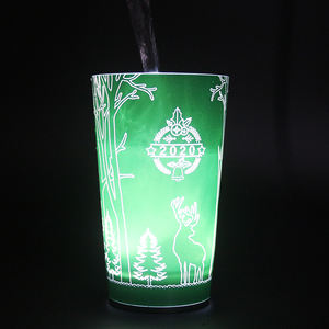 OEM High Quality Plastic Flashing Cup Eco-Friendly Luminous Led Light Cup