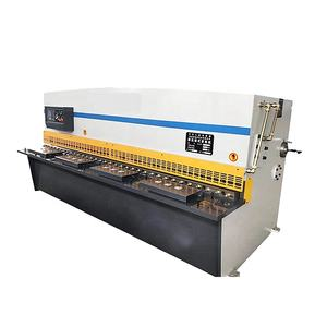 CNC Hydraulic Metal Stainless Steel Aluminum Shearing Guillotine Cutting Machine