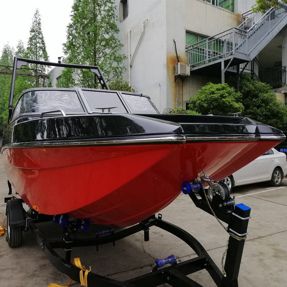 Worth owning 5.8m fiberglass boat and ship wakeboard ski boat