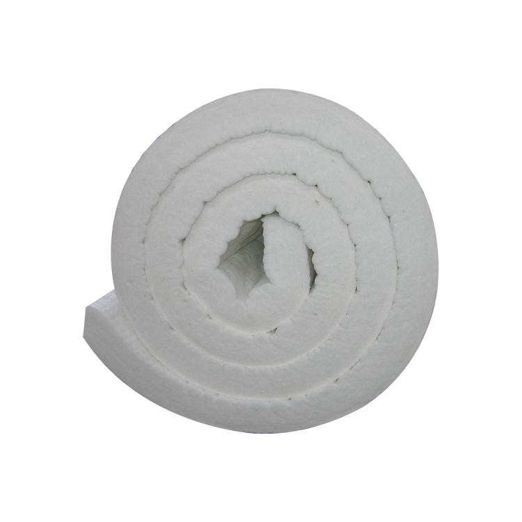 white ceramic fiber rock wool insulation blanket, alumina-silicate ceramic fiber blanket