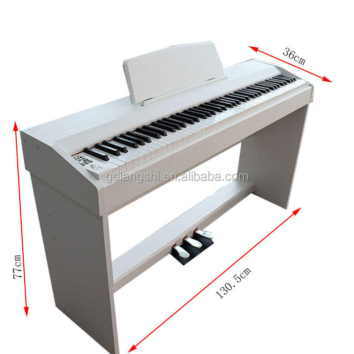 Gelaus professional white digital electronic piano
