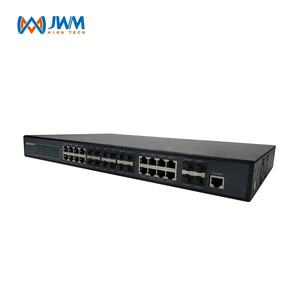 8 סיבי הנמל מנוהל gigabit אופטי power over ethernet רשת מתג בד rj45