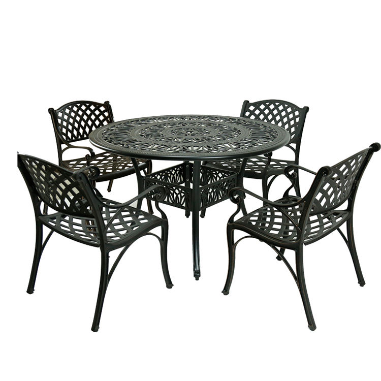 Outdoor high quality indoor bistro sets bistro 4 piece