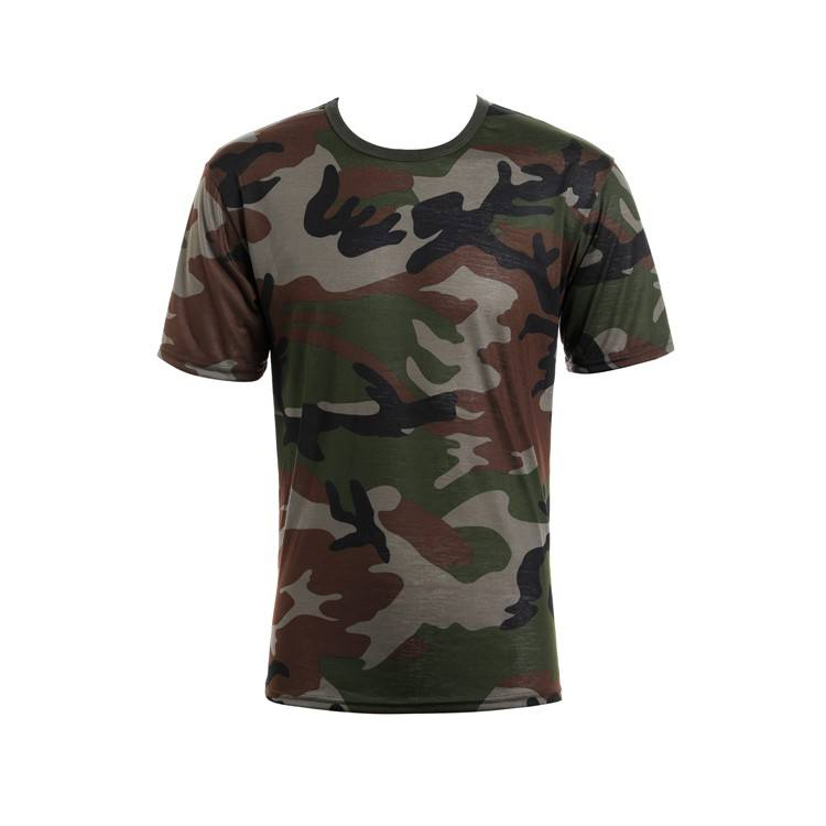 Graphic Customization [ Camouflage Shirt ] Camouflage Shirts Wholesale Short Sleeve Summer Men'S Military Army Camouflage T Shirt