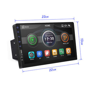 Bewinner Car/Stereo/MP5,7inch WiFi 2Din Car Radio Stereo GPS Navigation Multimedia Player with Camera for Android 8.1,Supports Audio Playback and Video Playback
