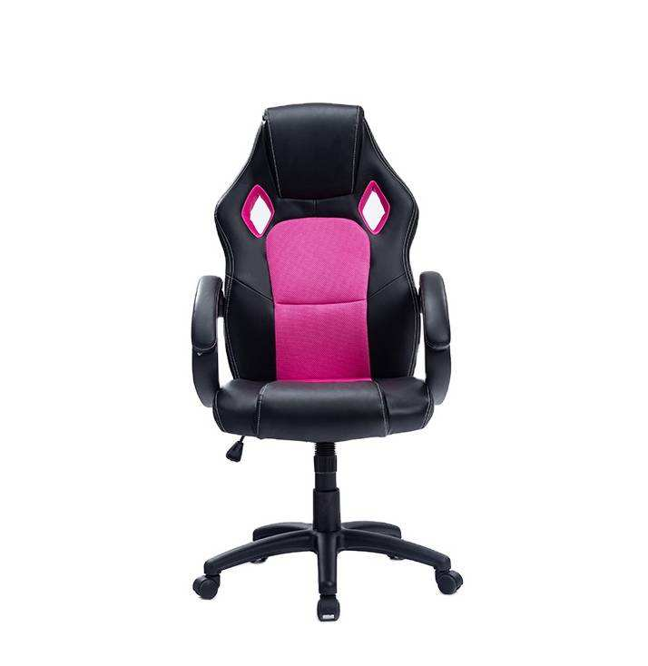8051 Amazon hot sell pink chair office PC computer desk gaming chairs Anji furniture
