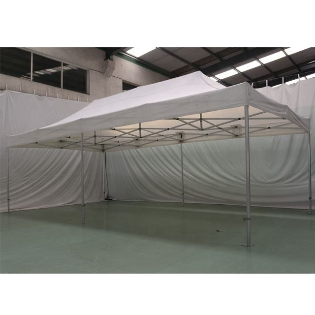 Heavy duty large aluminium 4x8m white pop up tent gazebo