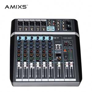 Amixs Series RV 6 Channel Digital Audio Mixer