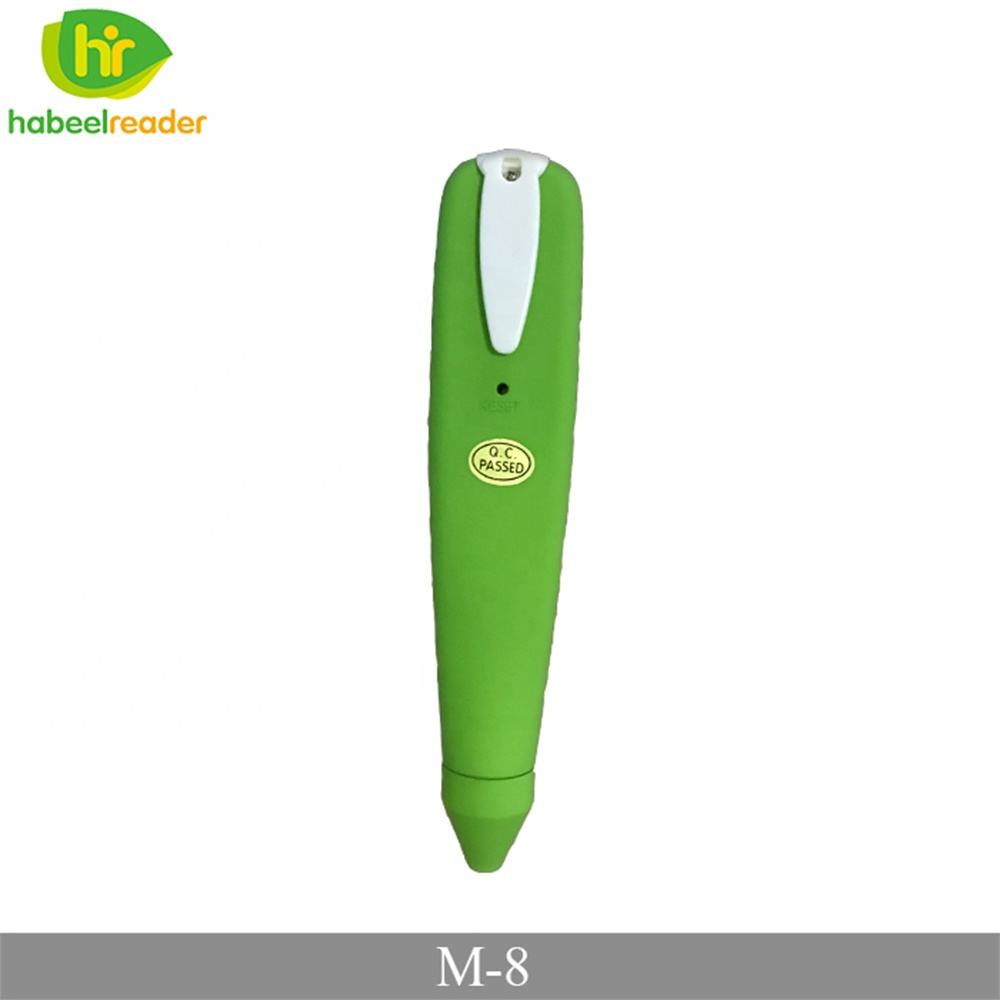 High Quality OEM Rechargeable USB Battery Toys Style OID Book Talking Pen translation Language reading Pen