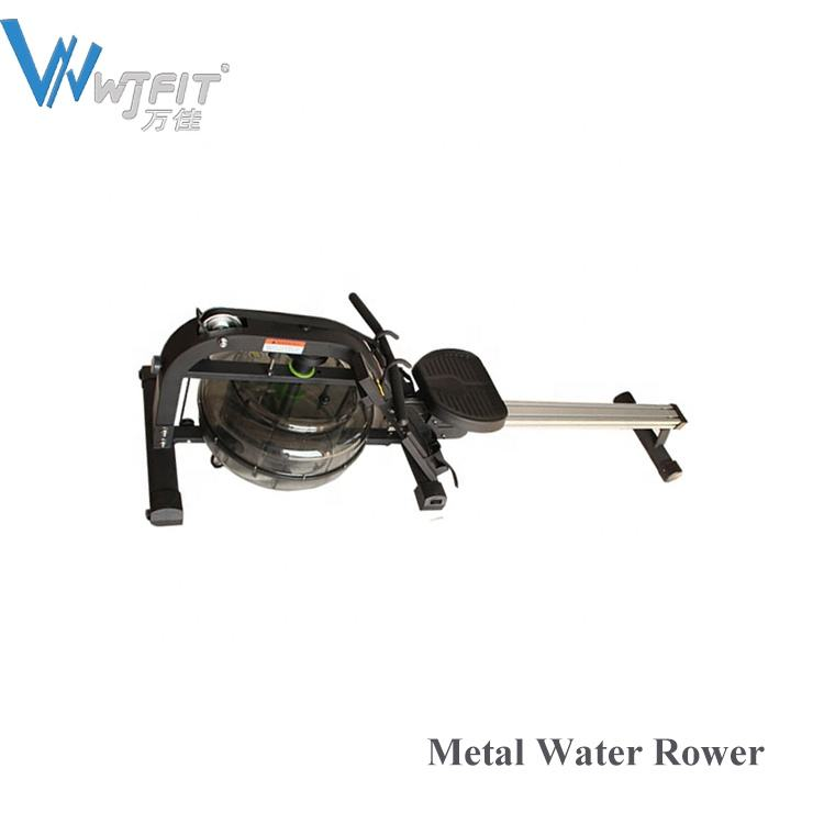 Metal Water Resistance Rowing Machine Indoor Water Rower Max Body Steel Wood Building Time Packing Weight Lbs