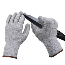 Seamless Knitted Nitrile Coated PU Cut Resistant Hand Safety Gloves For Industry Work