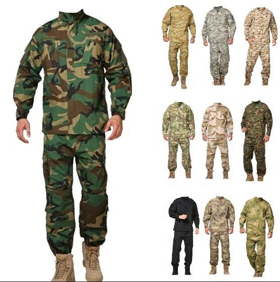 China cheap military uniforms combat tactical military clothing camouflage army officer uniforms for sale