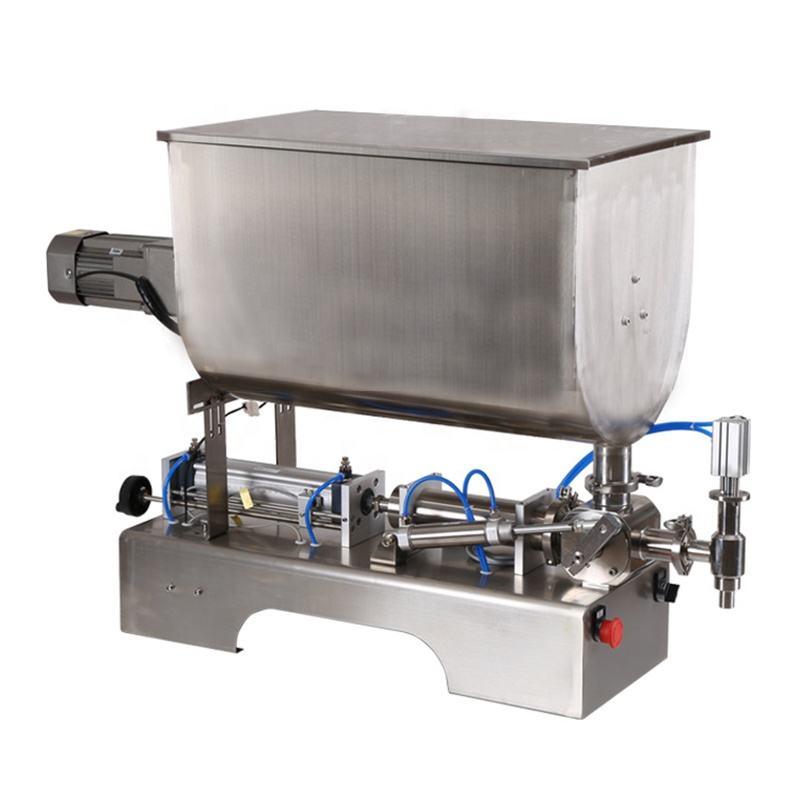 Semi automatic ice cream water honey sauce tomato paste filling machine