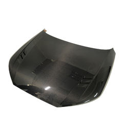 Double-sided Carbon Fiber Car Engine Front Hood For Audi B9 A4 S4 Rs4
