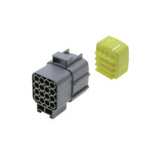 2-368050-3 AHI 16 pin male and female auto connector