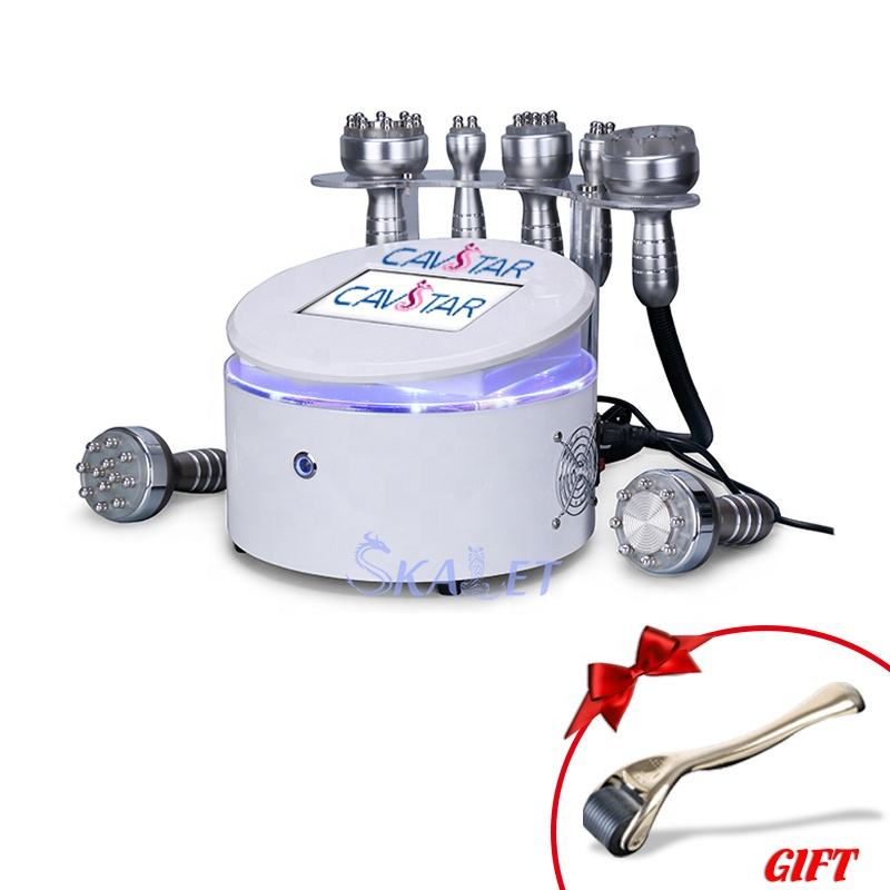 Hot sales fat breaking down RF 25K cavitation machine beautiful face shaping machine for home use