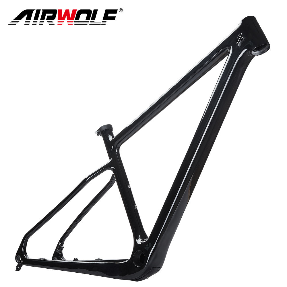 New Full 29er Carbon B00ST Frame 148*12mm Carbon Mountain Bike Frame Fit For Max Tyre Size 2.45inch 29er Bicicletas MTB Bike