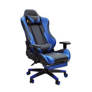 cheap big and tall modern recliner ergonomic computer gamer gaming office chair pc with footrest