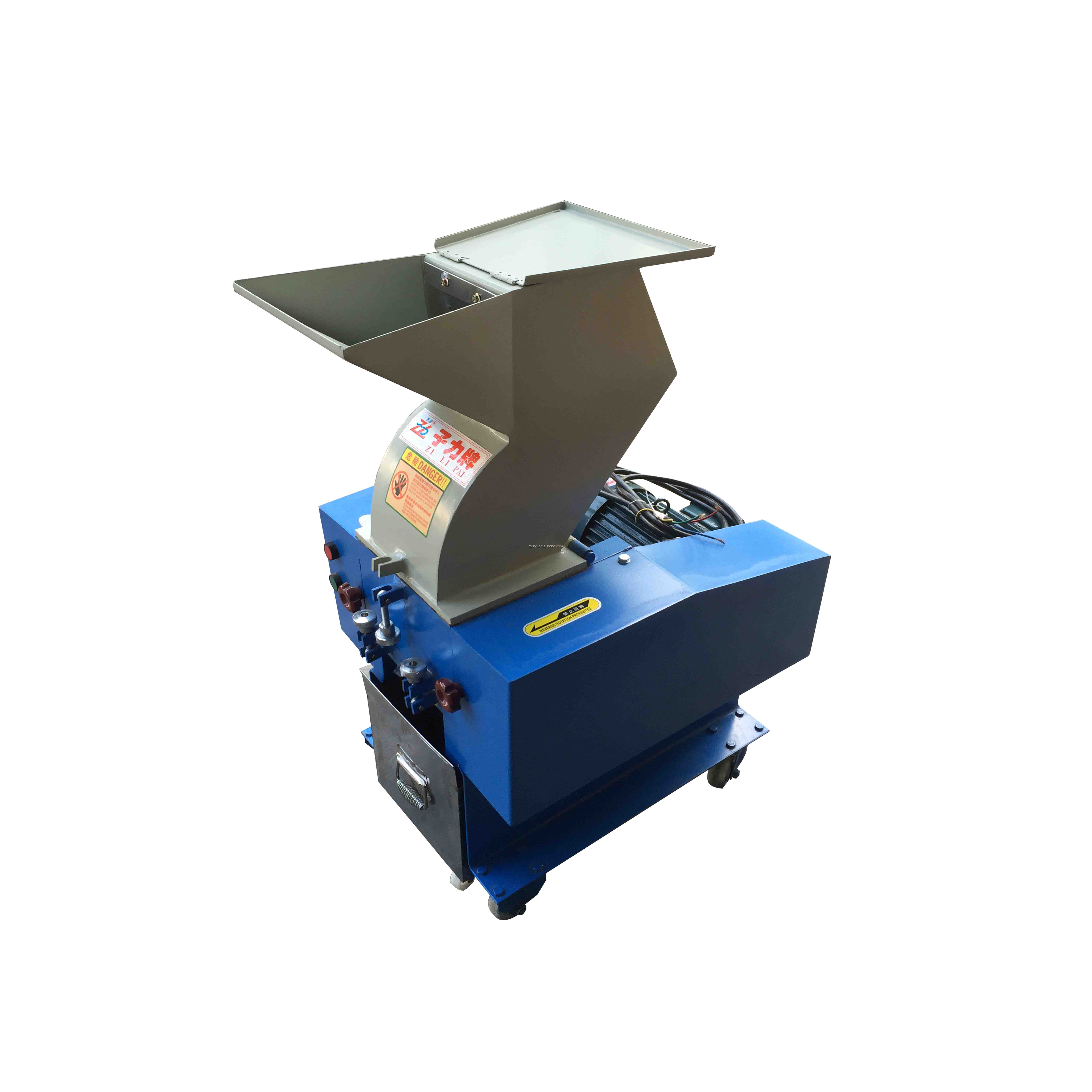 Zillion 2.2KW 120kg/hr PET bottle crusher recycle home use