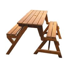Outdoor Garden Picnic Table and Bench