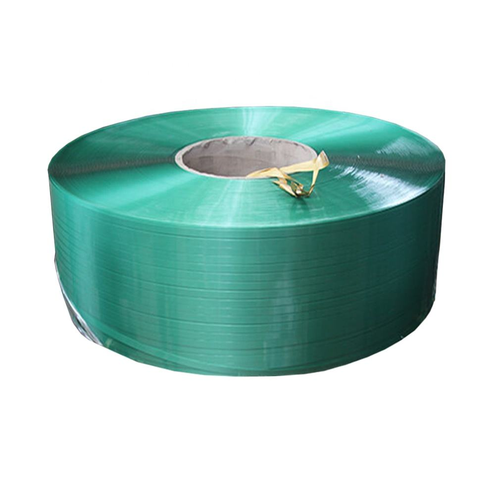 ZILI 125kg Jumbo rolls PET Straps Band Polyester Packaging Strapping Belt for brick packing Industry