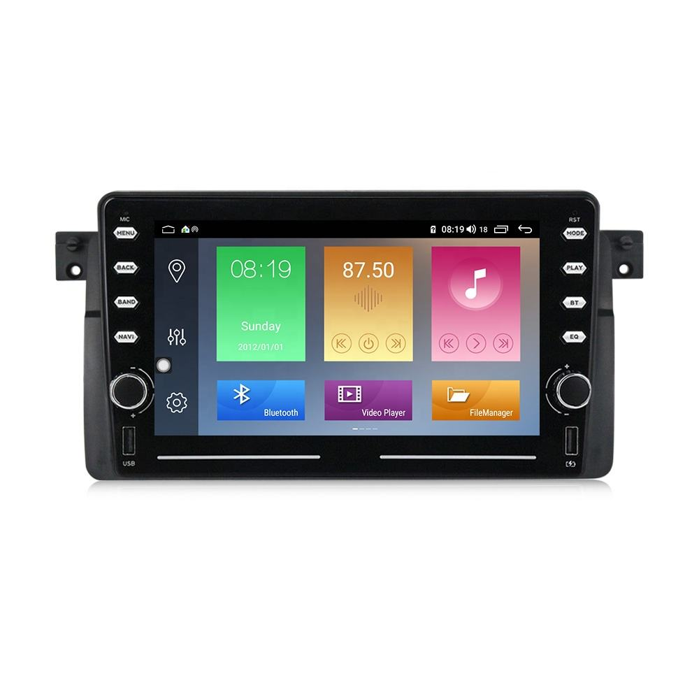D Series Android IPS+2.5D+DSP+4G LTE+CarPlay Car Navigation Player For BMW E46 M3 with 4+64GB/2+32GB/1+16GB 8'' no dvd