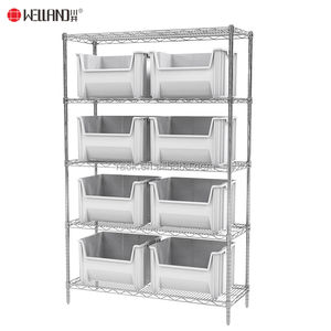 NSF Approval Metal 304 Stainless Steel Wire Shelving From Rack And Shelf Supplier