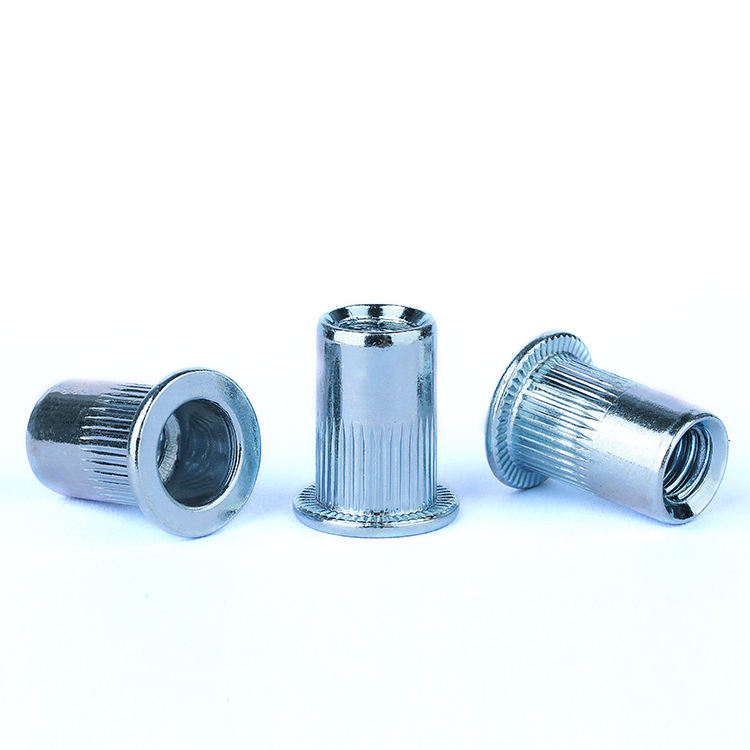 Customized CNC stainless metal insert nuts for wood insert nuts m5