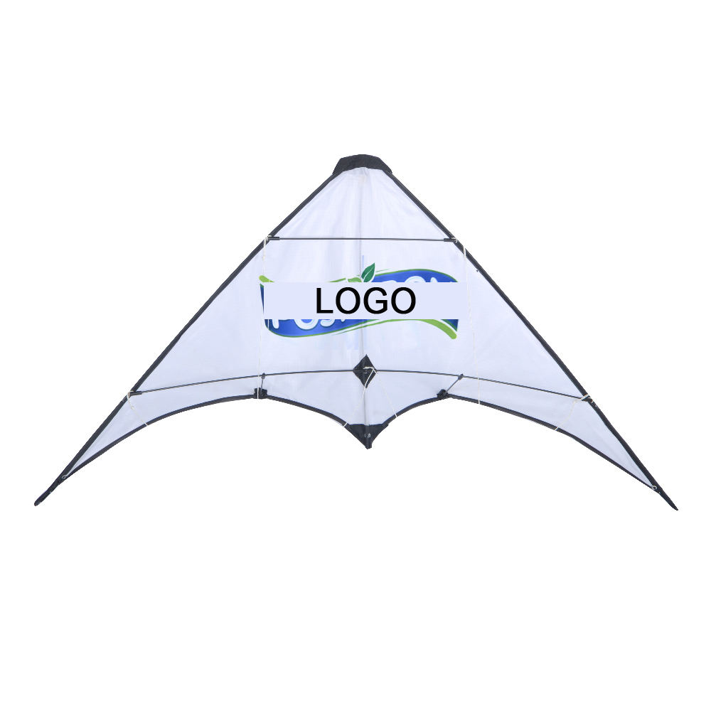 Promotional dual line advertising stunt kite