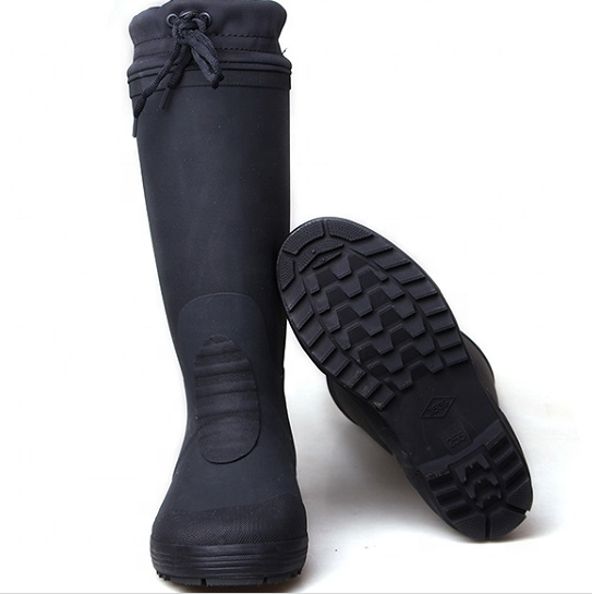 3539 Rubber Thermal Rain Boots Fishing Winter Heated Gum Wellington Boots