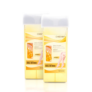 Painless 100g Honey Soft Wax Hair Removal Wax Honey Roll On Wax For Salon Spa Beauty Center