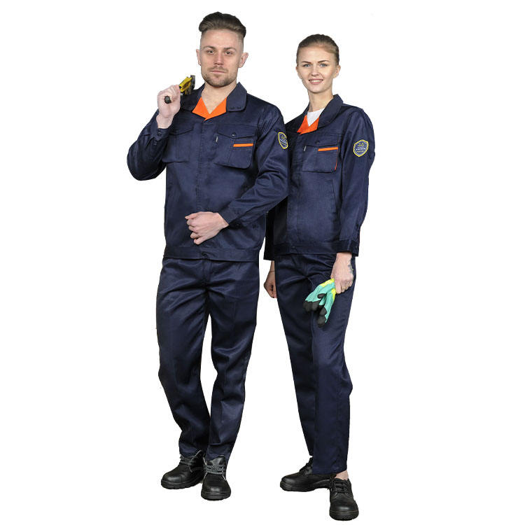Tested And Good Price Advantage Low Factory Direct Sales Work Clothes Against Sulfuric Acid Alkali-resistant Overalls
