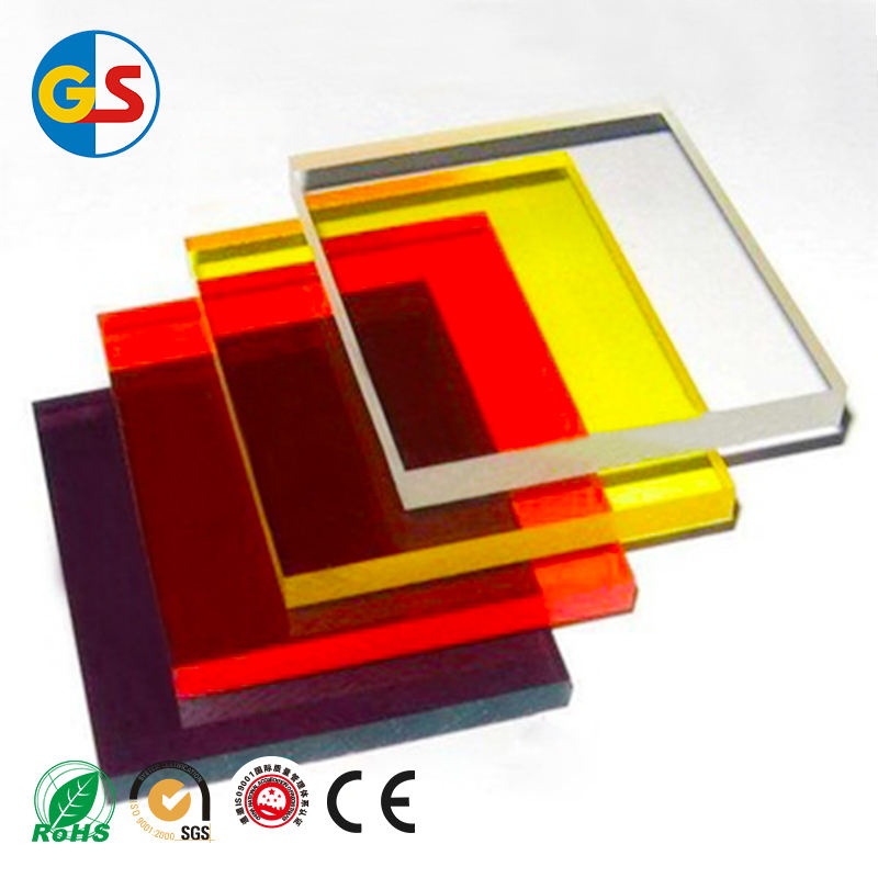 PMMA clear Acrylic sheet manufacturers transparent color
