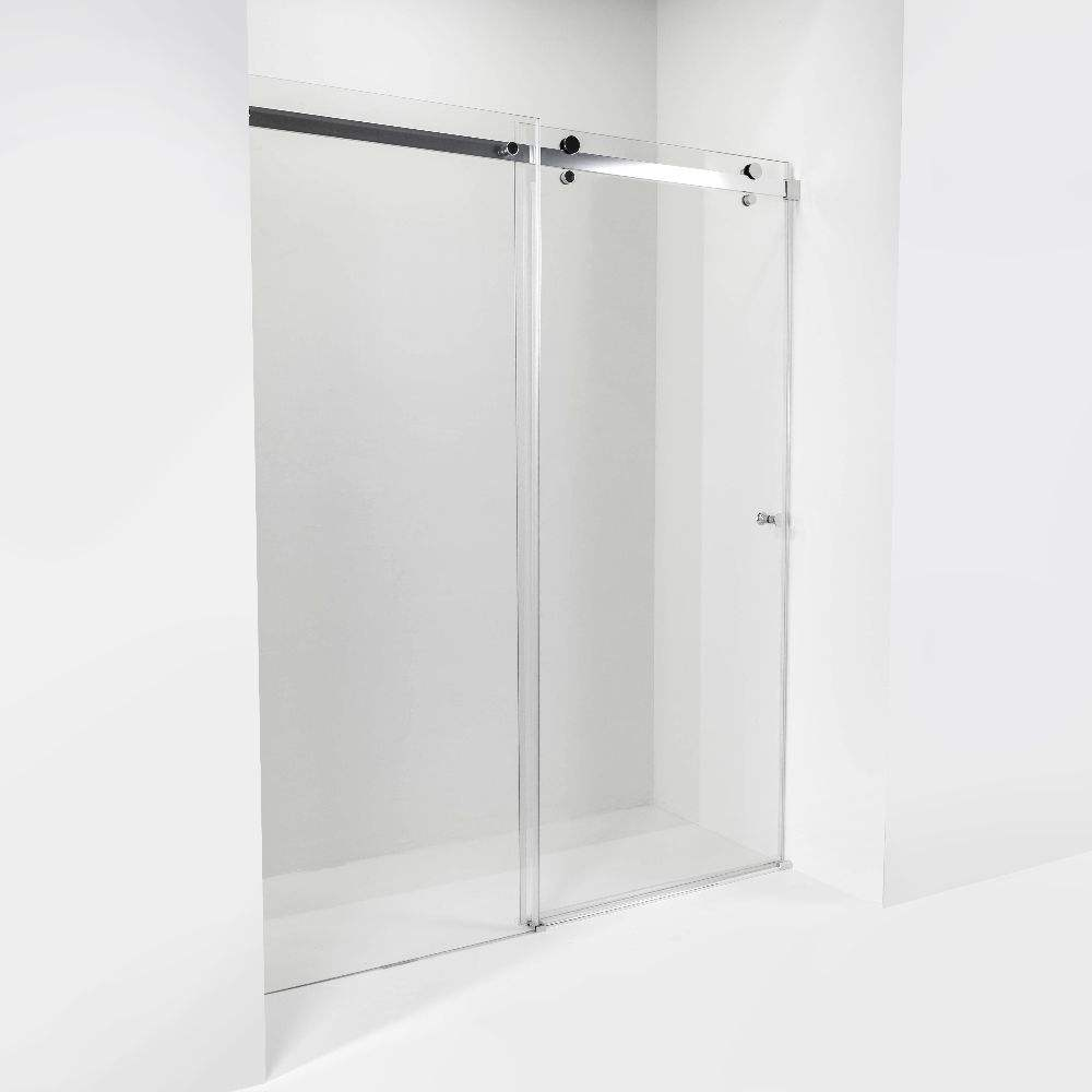 factory direct sale new design high quality sliding roller bathroom tempered glass Shower Door