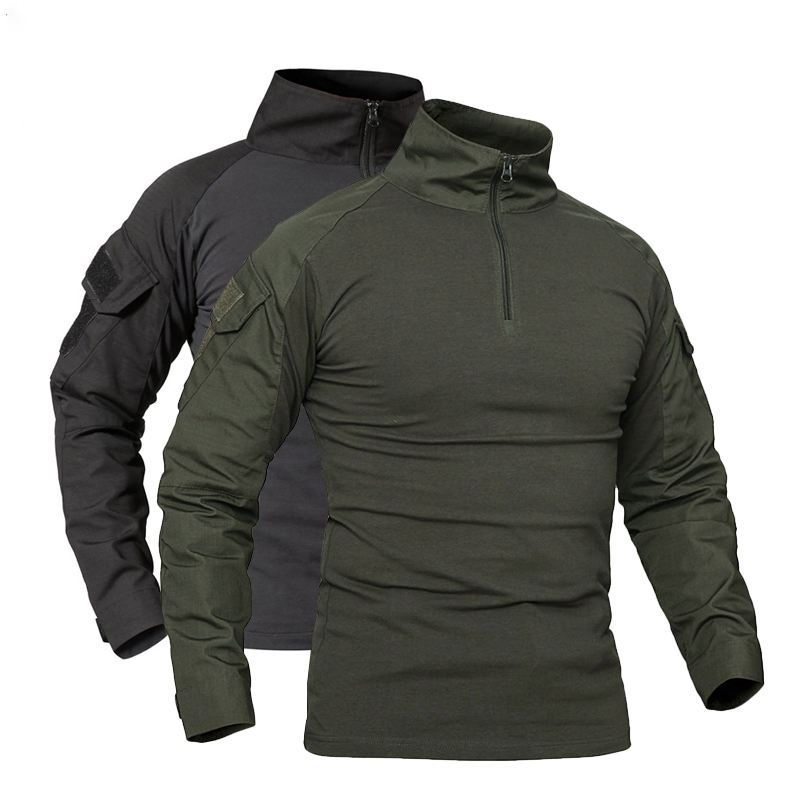 Men Outdoor Tactical Military T-shirts Sports Casual Shirts Combat Uniforms Hunting Climbing Fishing T Shirt