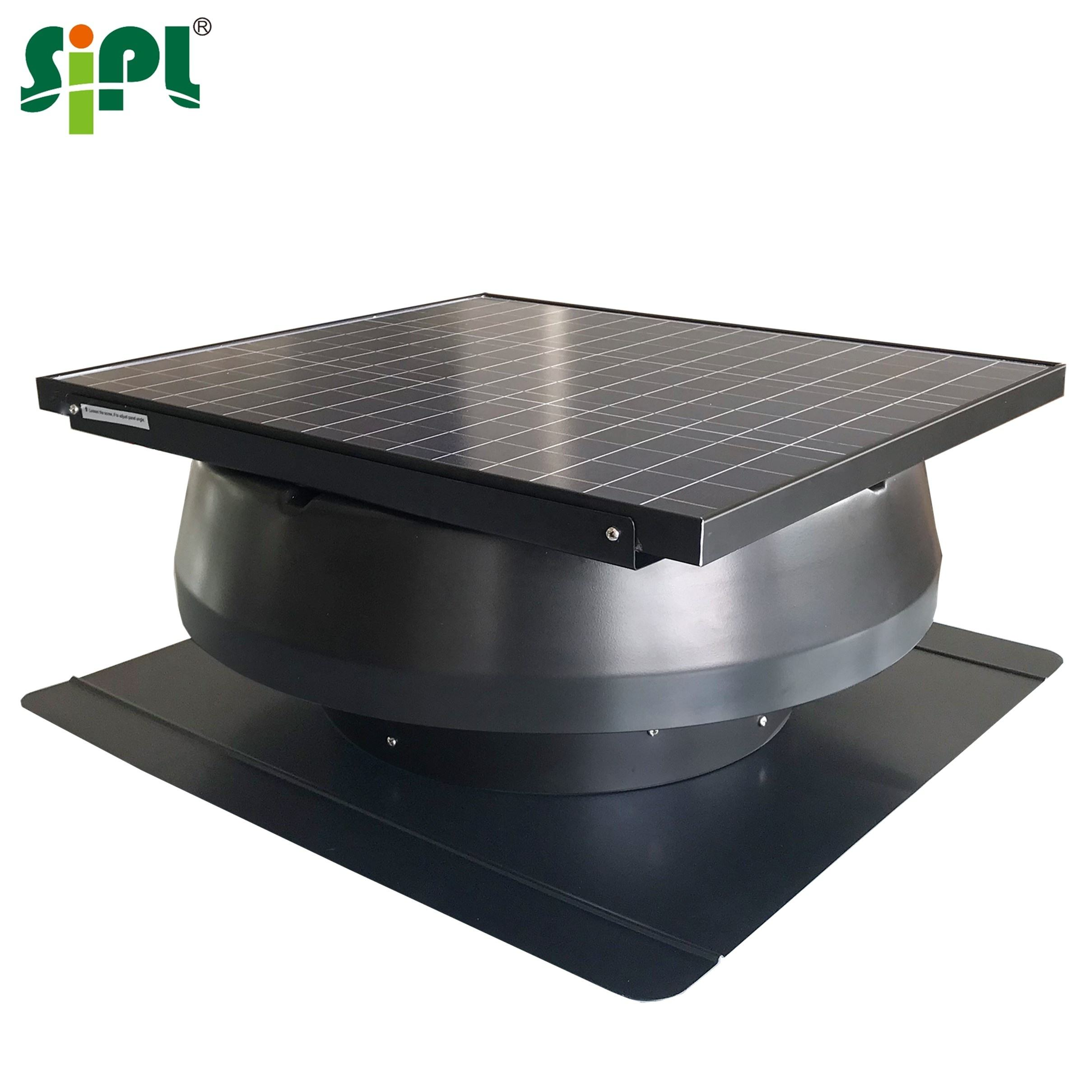 Hardware HVAC New Product Sunny Eco Ventilation Tool 50W Solar Centrifugal Axial Air Fan Blower Attic Gable Roof Fan Exhaust Fan