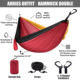 Outdoor Nylon Travel Garden Camping Portable Parachute Hammock