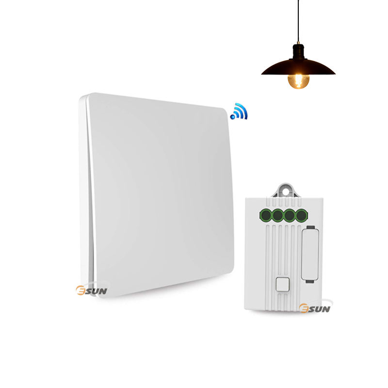 Smart wi-fi light switch, wall touch switch dimmer with remote control