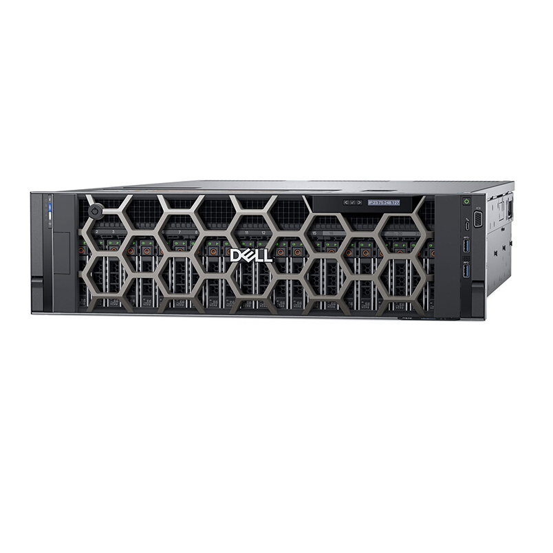 Dell PowerEdge R940 server 2 x intel Gold 5117/RAM 64GB/HDD 1.2TBx2/PERC H730P/2x1100W
