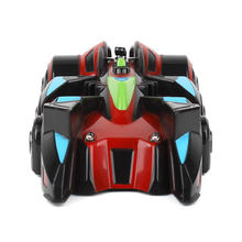 Hot Sale Gravity Defying Wall Climbing Car With LED Toy Remote Control Racing Car Wall Car For Children TOY Gift