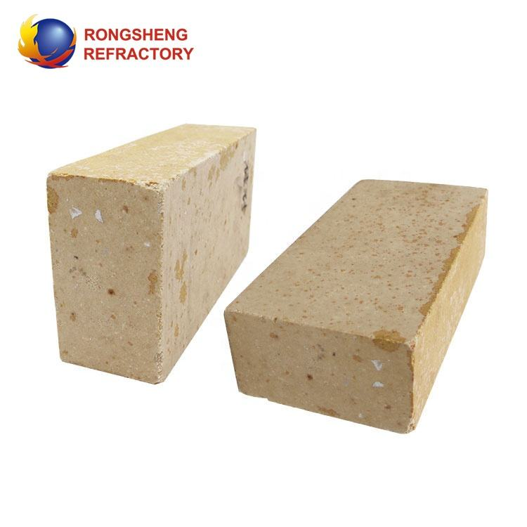 High Apparent Porosity Concise High Soften Point Brick Alumina Silicate Refractory Brick for Silica Furnace