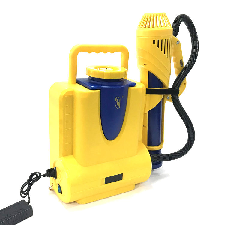 SY 790 gun electrostatic automatic electric cold fogger machine sprayer battery backpack wireless