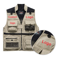 Factory supply safari protective more pocket hunting vest