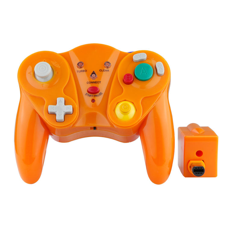 KINGSTAR Wholesale Custom 2.4Ghz Wireless Bluetooth Gamepad Nintendo Game Cube Console Wii Console Joystick Game Controller